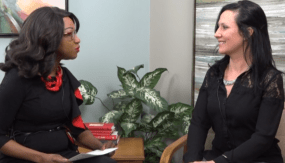 Shawn Cunningham interviews Lillie Lavado for WAGM-TV AM Chat